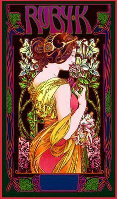 Cool psychedelic art