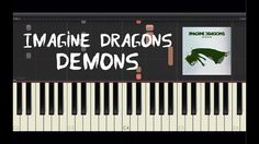 Imagine Dragons - Demons - Piano Tutorial by Amadeus (Synthesia)