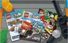 FREE 2-Year Subscription to LEGO Club Magazine
