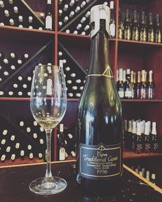 Tried a knock out #sparklingwine @summerhillwine Cipes Traditional Cuvée 1996- worth the investment for your special celebrations  or everyday decadence  Summerhill has a great selection of their sparkling wine open and available for tasting  daily at the winery.