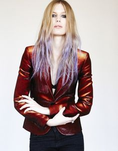 Women of Metal - Amalie Bruun Myrkur Goth Girls, Leather Jacket, Band, Female, Jackets, Inspiration, Musicians, Queens, Angels