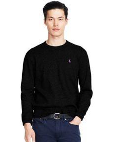 POLO RALPH LAUREN Polo Ralph Lauren Cotton Crew,Neck Sweatshirt.  sweaters