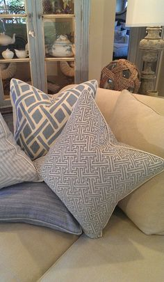 - Nantucket Collection - #beachpillows #coastalpillows #coastalhomepillows