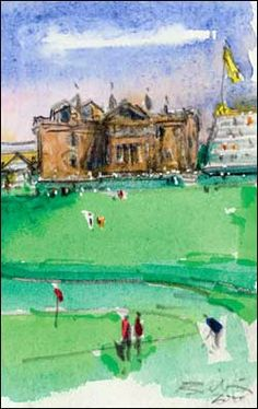 The Art of Riley - Golf Art of Harold Riley