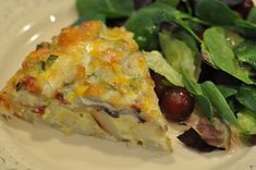 Crustless Quiche (uses hashbrowns)
