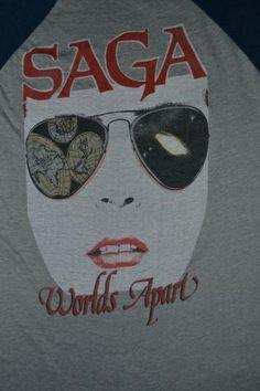 Saga Vintage T-Shirt https://www.facebook.com/FromTheWaybackMachine