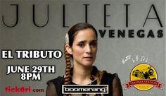 Noche mágica con los grandes éxitos de Julieta Venegas  — Memorial weekend special price sale!