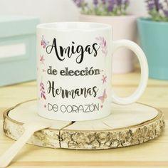 Best Friens, Ideas Para Fiestas, Bff, Coffee Mugs, Sisters, Tableware, Meme, Projects, Gifts