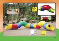 Playgrounds de plástico brinquedo de plástico parquinho de blumenau