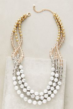 Venice Layer Necklace #anthropologie