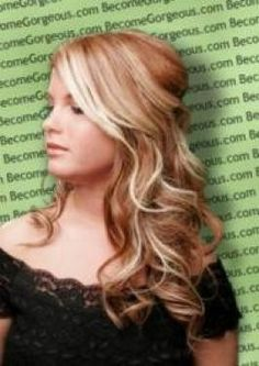strawberry blonde lowlights, this is what I want my hair to be right now!