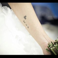 """""""Let it be"""" tattoo"""