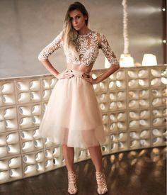 Looks com vestidos de festa by Cyntia Fontanella - Blog de Moda e...
