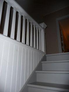 Gamla mejeriet: Det färdiga trappräcket