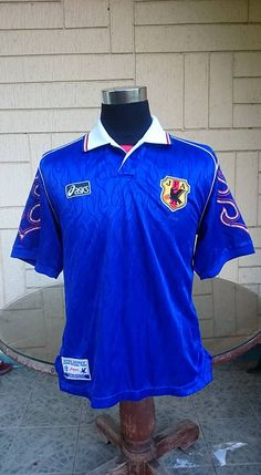 JAPAN 1998 WORLD CUP HOME VERY RARE JERSEY MADE IN JAPAN SHIRT ジャージーシャツ  .... visit... www.vintagesoccerjersey.com c8a07130f7d58