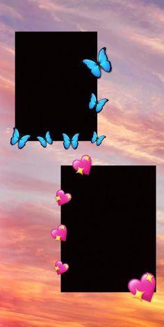 Butterfly Wallpaper Iphone, Cute Emoji Wallpaper, Dark Wallpaper Iphone, Cartoon Wallpaper Iphone, Iphone Wallpaper Tumblr Aesthetic, Galaxy Wallpaper, Birthday Collage, Birthday Post Instagram, Instagram Frame Template