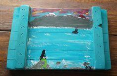 MERMAID'S SONG Coastal Art Scott D Van Osdol by MySalvagedPast