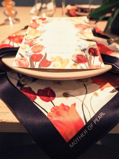PAPIER MENUS appeared on the table for Mother of Pearl and Bloom & Wild's intimate dinner to celebrate Peony season. Peonies Season, Bloom And Wild, Sustainable Clothing, Contemporary Fashion, Peony, Note Cards, Women Wear, Invitations, Seasons