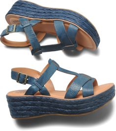 Kork Ease. Most comfy shoes... Look Emilee, good thing we got ours on sale, but I do like these navy ones