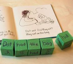 Encourage your child's creativity with these story cubes! Your child will learn reading comprehension and storytelling!