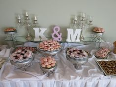 Traditional Pittsburgh wedding cookie table