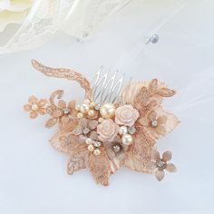 Check out this item in my Etsy shop https://www.etsy.com/listing/588474148/bridal-hair-accessory-vintage-lace