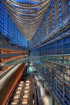 Tokyo International Forum Redux by Clint Koehler, via Flickr