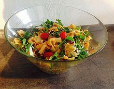 Eckis italenischer Nudelsalat mit Pesto, ein sehr schönes Rezept aus der Kategorie Studentenküche. Bewertungen: 177. Durchschnitt: Ø 4,7.