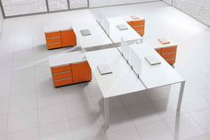 Personel Masaları Modelleri #mobilya www.ankaofis.net