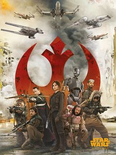 NEW Rogue One Official Posters  HD - A Star Wars Story _  The Rebel Alliance HD Hi Res