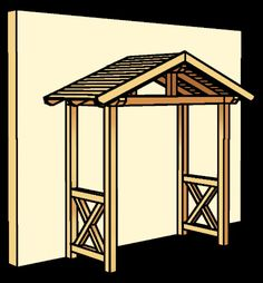 Wooden canopy SKANWOOD Stralsund for entrance doors gable roof Door Canopy Porch, Porch Awning, Porch Entry, Patio Roof, Small Front Porches, Decks And Porches, Front Gate Design, Roof Design, Door Overhang