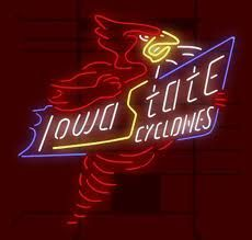 Iowa State Cyclones Think I need this for our bar!