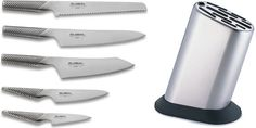 Global Knives 6 Piece Knife Block Set G 835/WS * Learn more by visiting the image link.