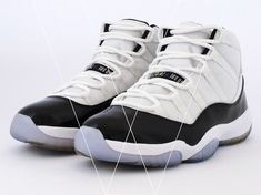 5505e1682d02a Learn how to spot fake Nike Air Jordan 11 Retro s with this detailed 30  point step-by-step guide by goVerify.