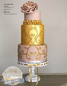 ❁❚❘❙ Zuhair Murad Inspired Cake