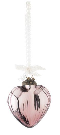 Heart Christmas ornament by Lisbeth Dahl Copenhagen Autumn/Winter 13. #LisbethDahlCph #Magical #Christmas #Heart #Ornament