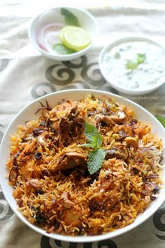A couple of months ago the hubby came across an easy biryani recipe which he wanted me to try out. Till the time I tried it I didn't consider biryani Fried Fish Recipes, Veg Recipes, Indian Food Recipes, Cooking Recipes, African Recipes, Chicken Recipes, Veg Thali, Biryani Recipe, Ramadan Recipes