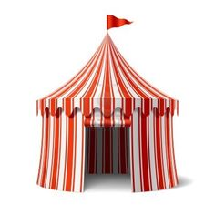 Circus tent  sc 1 st  Pinterest & Vector illustrations of BigTop/Carnival Circus tents.Tents are ...