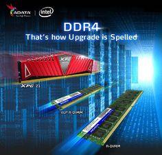 ADATA presenta memorias DDR4 - http://www.tecnogaming.com/2014/09/adata-presenta-memorias-ddr4/
