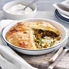 Moroccan Beef, Pumpkin & Couscous Filo Pie