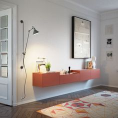 LAUKI sideboard, designed by Ibon Arrizabalaga Media Furniture, Modular Furniture, Deco Furniture, Cool Furniture, Furniture Design, Cabinet Furniture, Console Tv, Wooden Console Table, Classic Interior