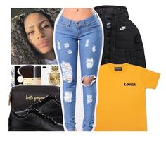 A fashion look from June 2017 featuring short sleeve tee, NIKE and black low top sneakers. Browse and shop related looks. Ripped Jeans, Skinny Jeans, High Fashion Outfits, Weekend Outfit, Black Women, Streetwear Brands, Fashion Looks, Luxury Fashion, My Style