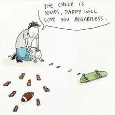 #daddy #skateboard #choice #sports