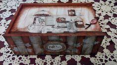 Decoupage, Decorative Boxes, Paris, Home Decor, Homemade Home Decor, Montmartre Paris, Paris France, Decoration Home, Decorative Storage Boxes