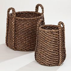 Handwoven of sustainable water hyacinth plants in the southern Philippines, our oversized Espresso Carrie Tub Basket Collection combines natural beauty and quality craftsmanship. Exclusive to #WorldMarket, these unique baskets are perfect for holding magazines, games, toys, craft projects and more.