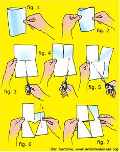 impossible paper triangle trick