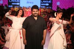 Gaurang brought everything to a standstill with his enchanting collection!! Truly reinventing our Varanasi heritage! ‪#‎LakmeFashionWeek‬ ‪#‎reinventbanaras‬ ‪#‎makeinindia‬