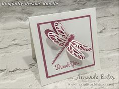 The Craft Spa - Stampin' Up! UK independent demonstrator : Dragonfly Dreams - the Stained Glass one...