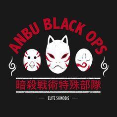ELITE SHINOBIS T-Shirt $12.99 Naruto tee at Pop Up Tee!