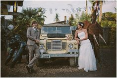 Lauren and Jaco's African Themed Chilled Out Wedding. By Rebecca Goddard